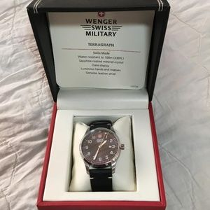 Wenger Swiss Military watch NWOT